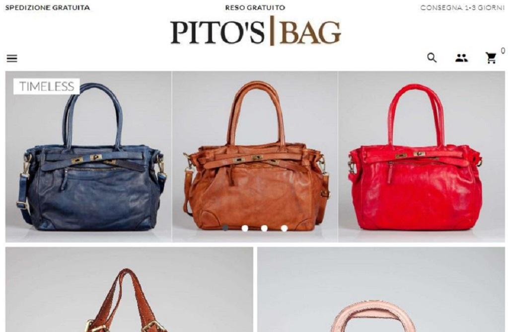 Pito's Bag piattaforma e-commerce Borse