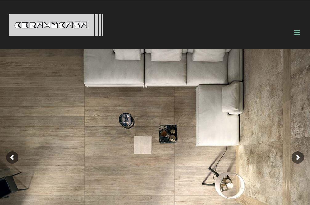 Ceramicasa sito web professionale